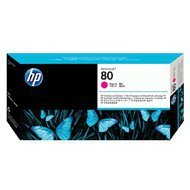Głowica + gniazdo czyszczące HP 80 do Designjet 1050/1055 | magenta