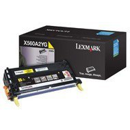 Kaseta z tonerem Lexmark do X560 | 4 000 str. | yellow