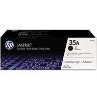 Zestaw dwóch tonerów HP 35A do LaserJet P1005/1006   2 x 1 500 str.   black