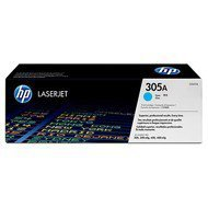 Toner HP 305A do Color LaserJet M351/375/451/475 | 2 600 str. | cyan