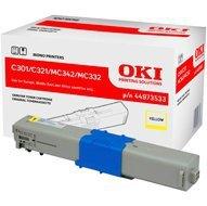 Toner Oki do C301/321/ MC342/MC332   1 500 str.   yellow