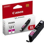 Tusz  Canon CLI551MXL  do  iP-7250, MG-5450/6350 | 11ml |  magenta