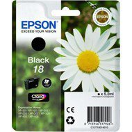 Tusz Epson  T1801 do XP-102/202/302/305/402/405 | 5,2ml |  black