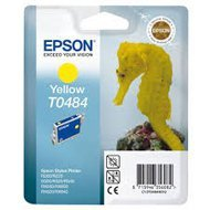 Tusz  Epson T0484  do  R-200/220/300/340, RX-500/600/640 | 13ml | yellow