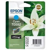 Tusz Epson T0592   do Stylus Photo  R2400  | 13ml |  cyan