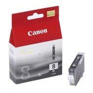 Tusz Canon CLI8BK  do iP-4200/4300/5200/5300/6600, MP-500/600/800 | 13ml | black
