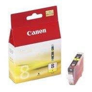 Tusz Canon CLI8Y do iP-4200/4300/5200/5300/6600, MP-500/600/800 | 13ml | yellow