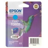 Tusz  Epson  T0802  do Stylus Photo  R-265/285/360 RX560  | 7,4ml | cyan