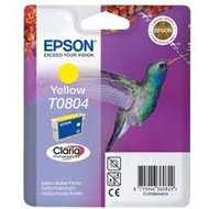 Tusz  Epson  T0804  do  Stylus  Photo R-265/285/360 RX560  | 7,4ml | yellow