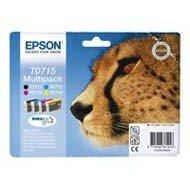 Zestaw tuszy  Epson T0715  do  D78  DX-4000/4050/5000/5050/6000 | 23,9ml | CMYK