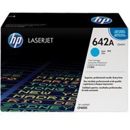 Toner HP 642A do Color LaserJet CP4005 | 7 500 str. | cyan