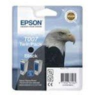 Zestaw tuszy Epson T007 do Stylus Photo 1290/1290S/900/915 | 2 x 16ml | black