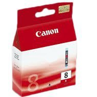 Tusz Canon  CLI8R  do Pixma Pro 9000, MP-500/800 | 13ml |  red