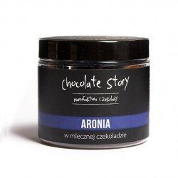 Aronia w mlecznej czekoladzie 44% - 120g