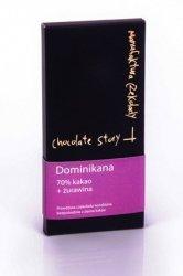 [70% kakao z Dominikany] + Żurawina 55g