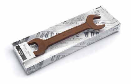 Klucz płaski oczkowy z czekolady