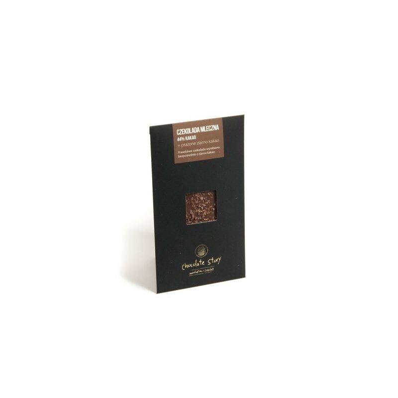 Czekolada z dodatkami Mini YCS Prażone Ziarno Kakao - 50g