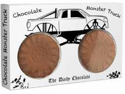 Monster Truck z czekolady