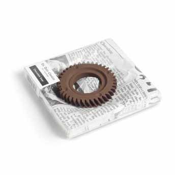 Koło zębate z czekolady