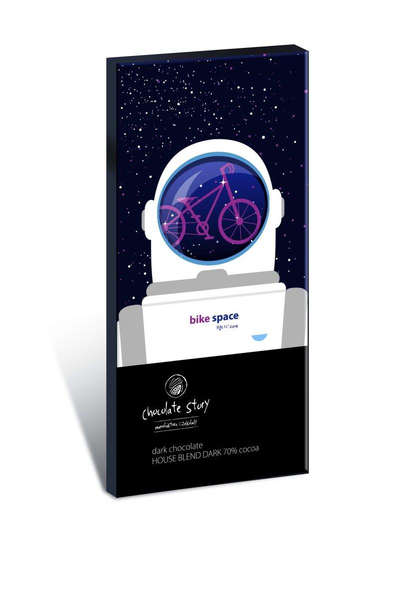 Czekolada gorzka z plakatem Balsi Bike Space [House Blend Dark 70%]