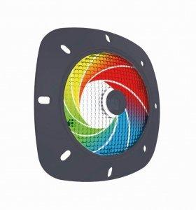 Lampa No(t)Mad SeaMaid 502112 LED RGB Szara obudowa