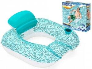 Fotel pływający z oparciem BESTWAY 43097