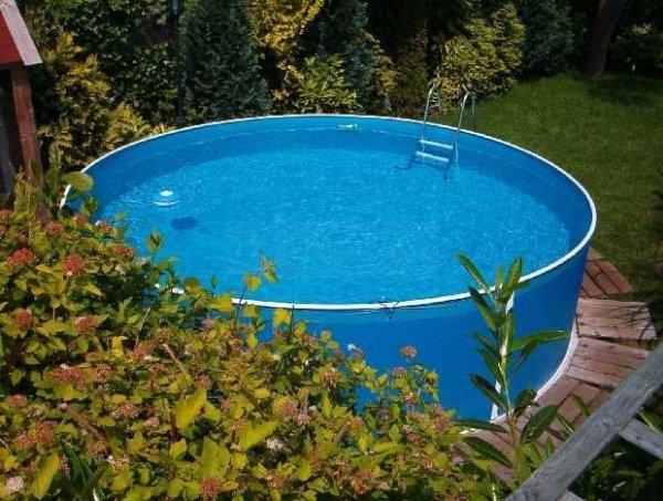 Folia niebieska 3,6 x 1,1m - 0,25mm