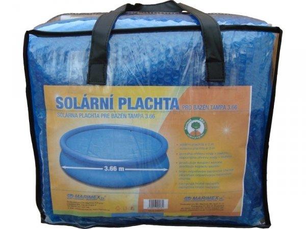 Płachta solarna dla basenów rozporowych 3,66m i stelażowych 3,05m