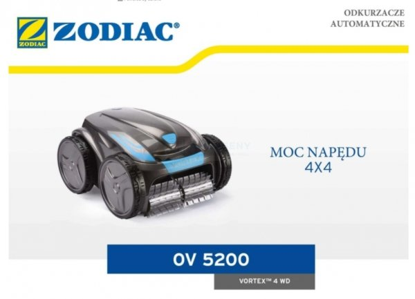 Odkurzacz automatyczny Zodiac Vortex OV 5200