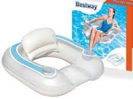 Fotel pływający z ruchomą poduszką BESTWAY 43097