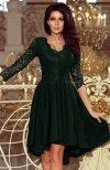 Numoco 210-3 Nicole sukienka ciemna zieleń