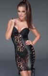 Dopasowana erotyczna sukienka F146