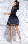 Bicotone 2128-01 sukienka granatowa tył
