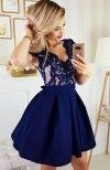 Bicotone 2139-11N sukienka rozkloszowana