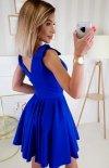 Wizytowa sukienka z kokardkami  2209-05 tył