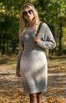 Fobya F579 sukienka szara