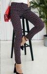 Dopasowane spodnie wzor/1 Lola Fashion
