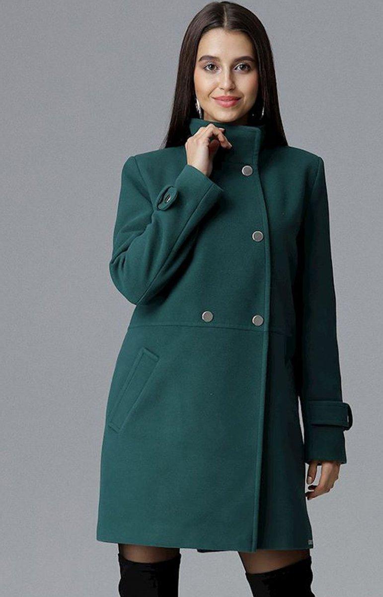 Zielone płaszcze damskie sklep internetowy Modne Kolory