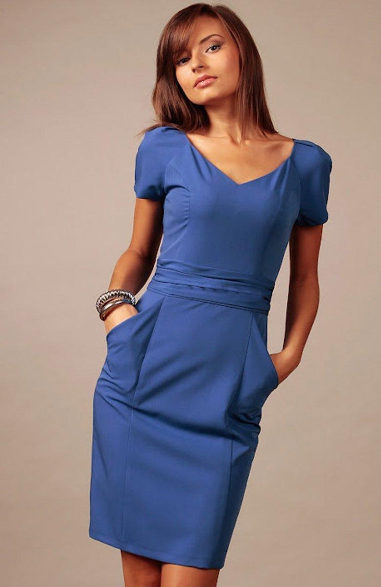 af7d85fbc3 Vera Fashion Michelle sukienka chabrowa - Sukienki wizytowe Vera ...