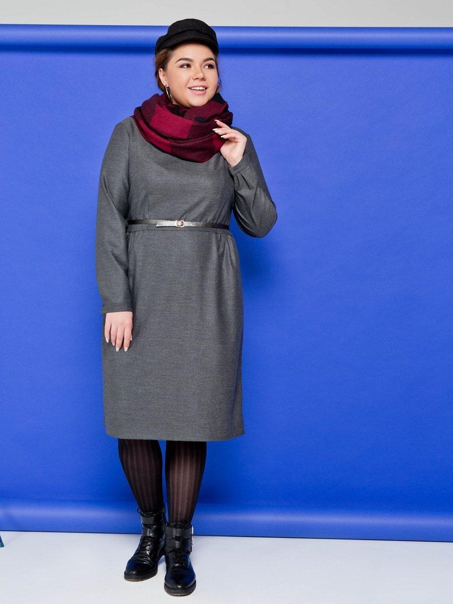 5c82d58cd2 Cover TR2093 sukienka grafitowa - Sukienki wieczorowe - Sukienki ...
