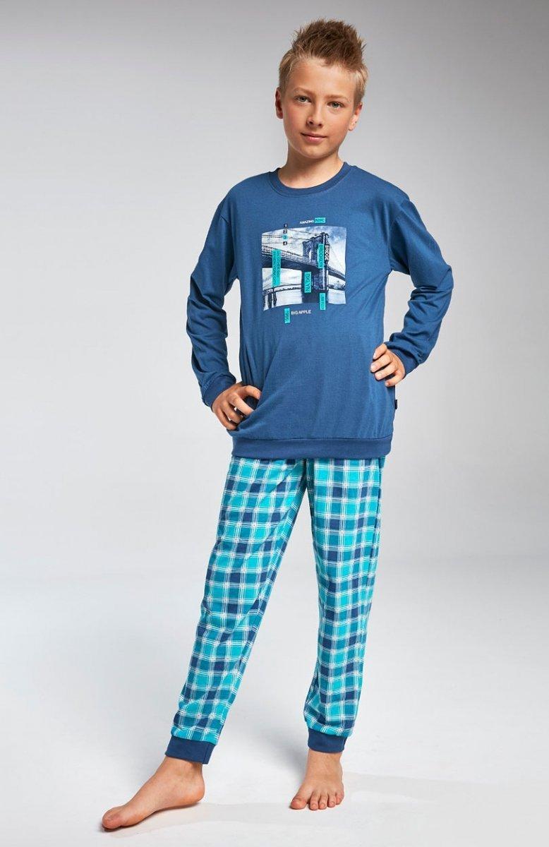 4bb71d6f3f7db8 Cornette Young Boy 966/81 Bridge piżama – Piżamy dziecięce ...