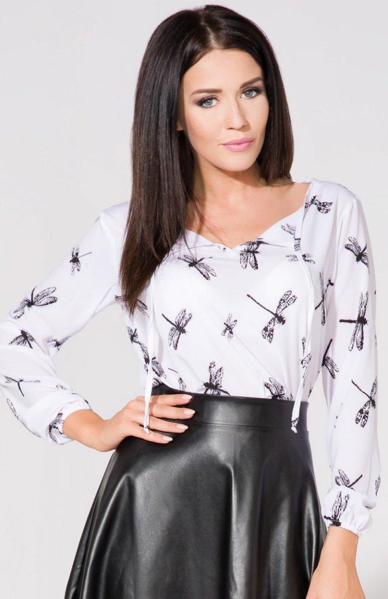 af859d7545 Tessita T157 1 bluzka ważki - Koszule i Bluzki damskie - Elegancka ...