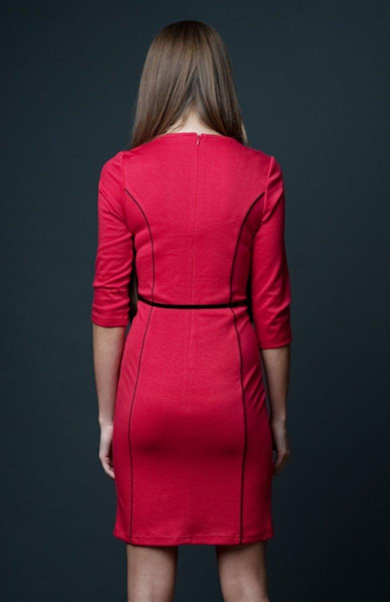 3bfc4d2018 Vera Fashion Pola sukienka czerwona - Sukienki wizytowe Vera Fashion ...
