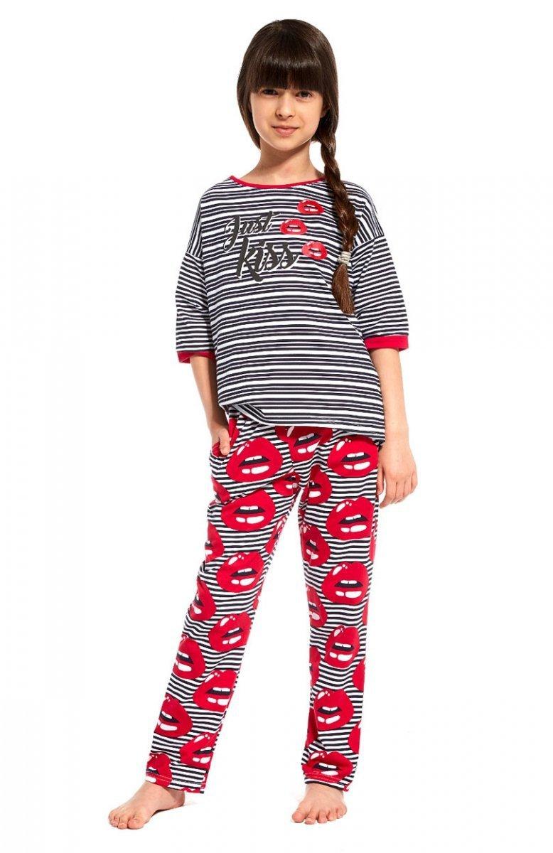 584e8bc515849f Cornette Young Girl 090/80 Kiss piżama – Piżamy dziecięce – Bielizna ...