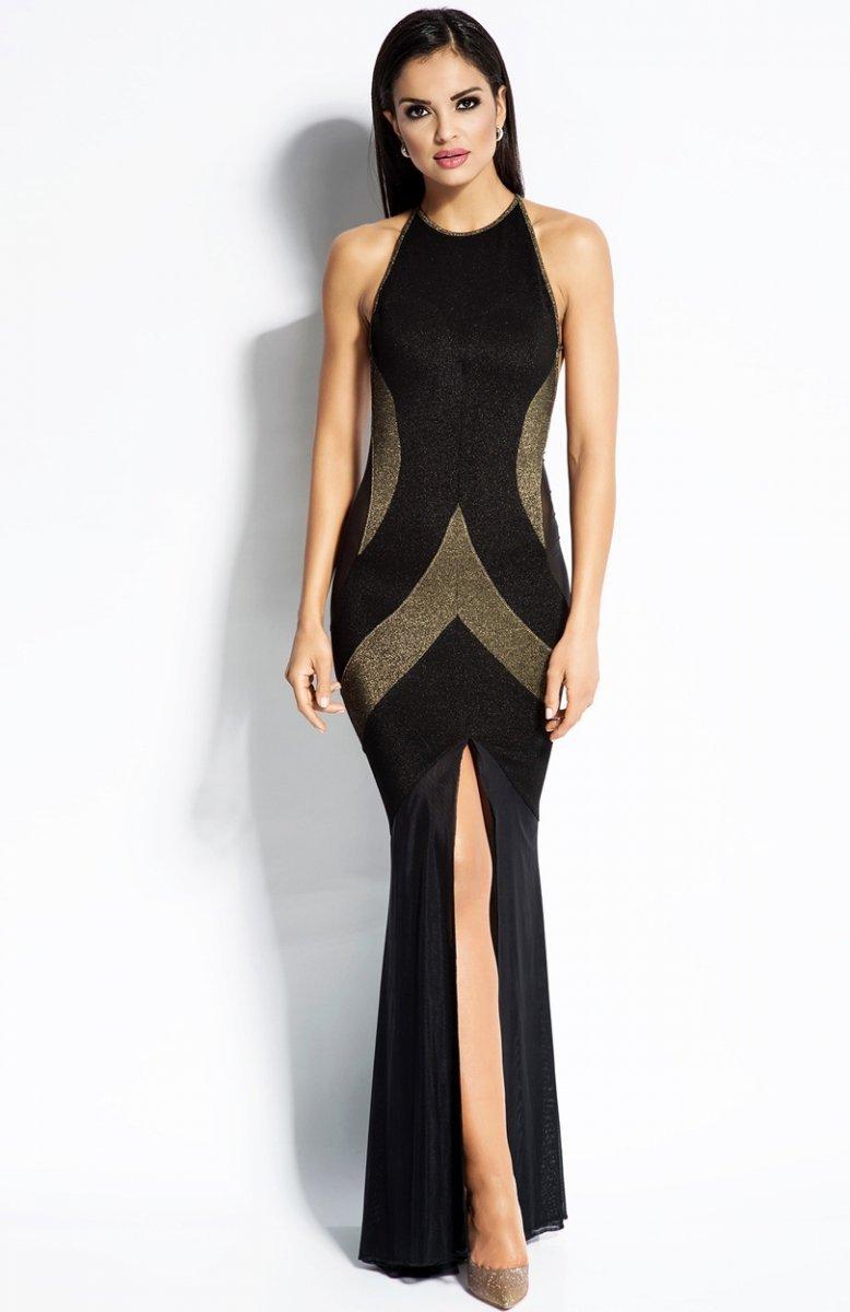 35328b0399 Dursi Michelle sukienka złota - Sukienki damskie Dursi - Modne ...