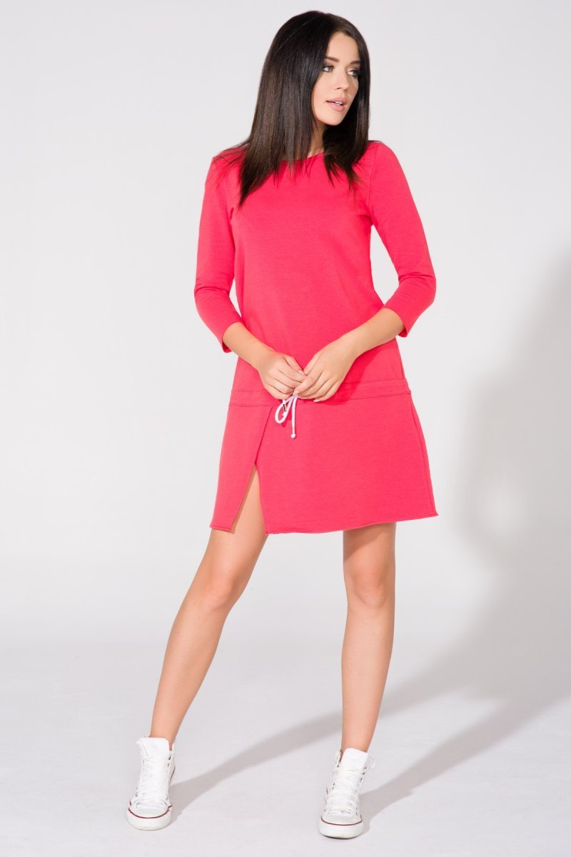 5a736d16d9 Tessita T150 4 sukienka koralowa - Modne sukienki damskie - Sukienki ...