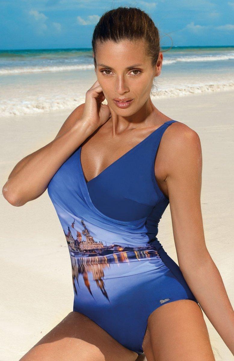 94860c4569cb4b Marko Daniella Blueberry M-555 kostium kąpielowy - Najlepsze ceny i ...