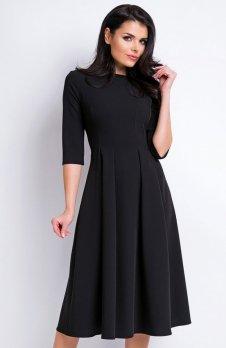Awama A159 sukienka czarna