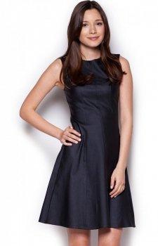 Figl M342 sukienka czarna