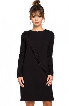 BE B053 sukienka czarna